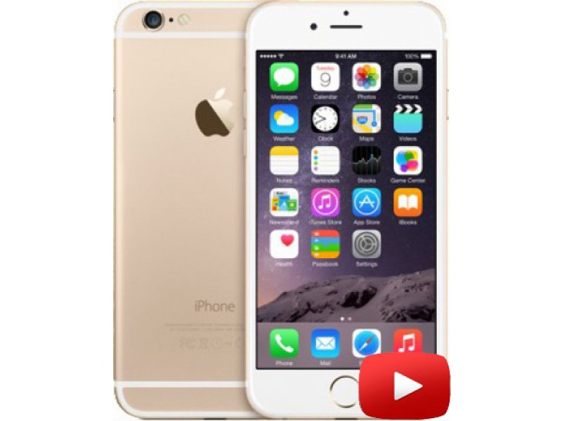 iPhone 6 GooPhone MTK6582 Gold
