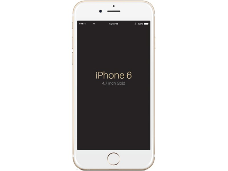 iPhone 6 GOOPHONE MTK6589 Gold
