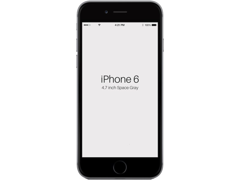 iPhone 6 GOOPHONE MTK6589 Space Gray