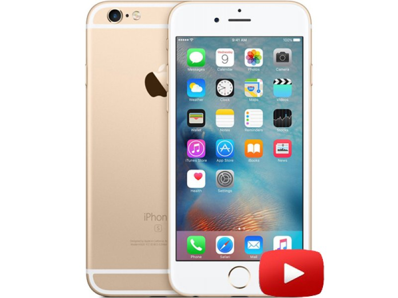 iPhone 6s Touch ID MTK6735 64-bit Gold