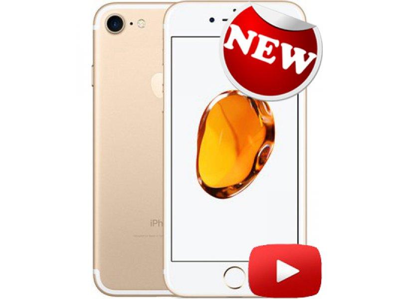 iPhone 7 Touch ID MTK6582 Gold