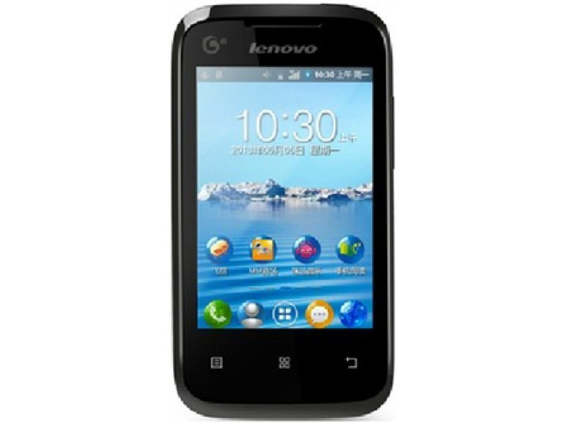 Lenovo A208t Android black 1 сим карта