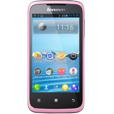 Lenovo A376 MTK6577 Android 4.0 pink