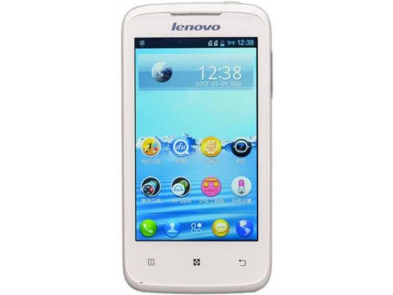 Lenovo A376 MTK6577 Android 4.0 white