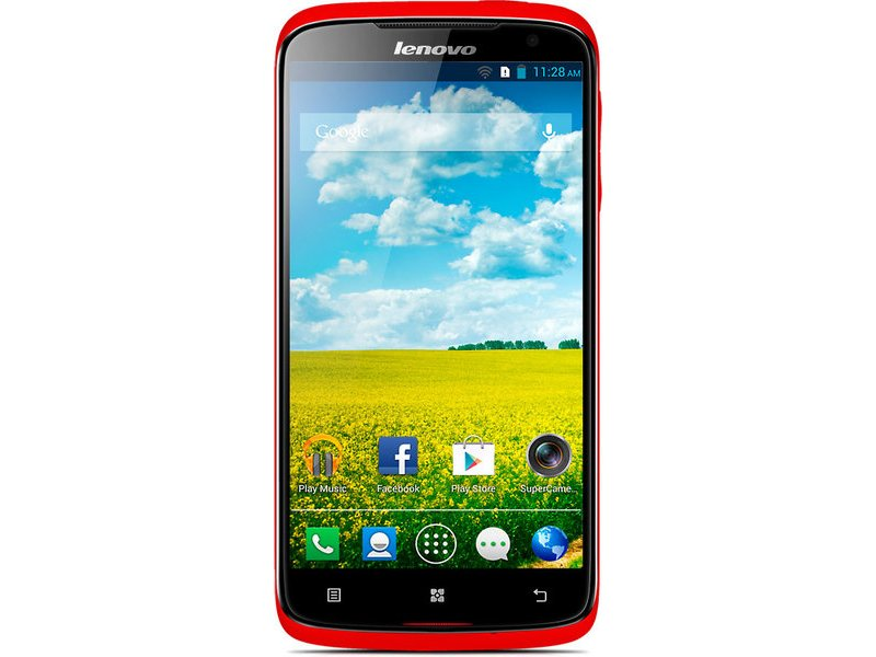 Lenovo S820 MTK6589 Android 4.2 red
