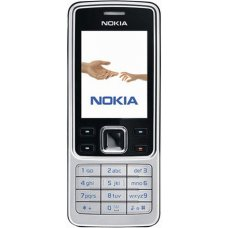 Nokia 6300 Classic Silver Phone