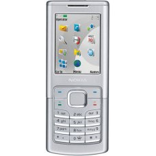 Nokia 6500 Classic Silver Phone