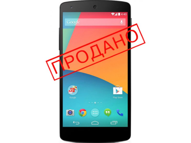 LG Google Nexus 5 16Gb D821 black (бу)