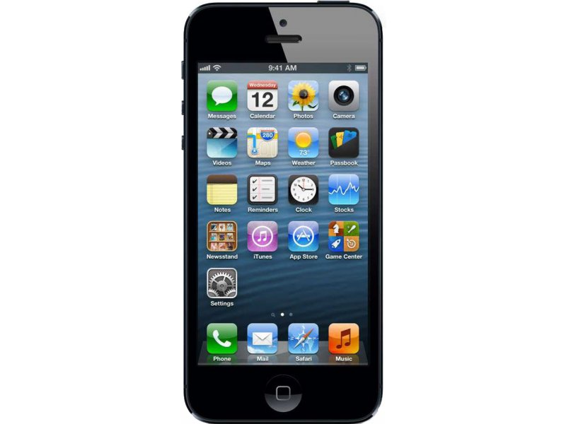 iPhone 5 black mtk6577 china (бу)