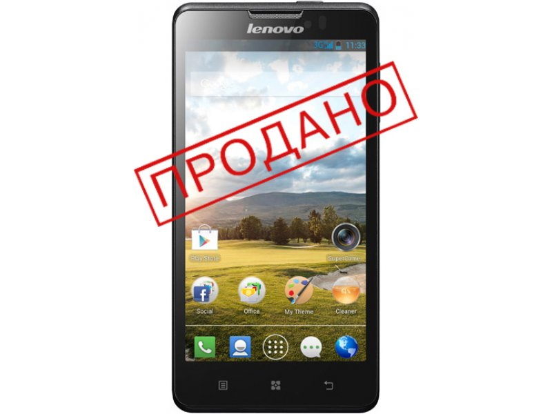 Lenovo P780 black Original Phone (бу)