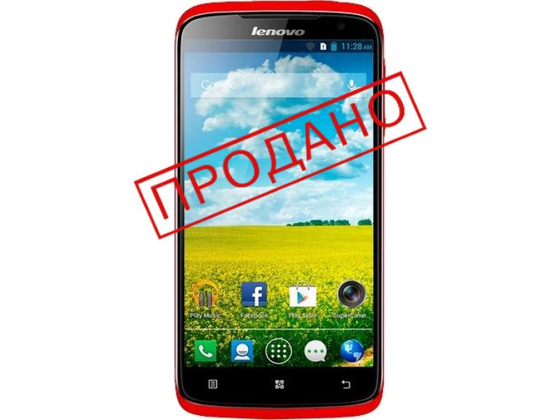 Lenovo S820 red 8Gb Europe (бу)