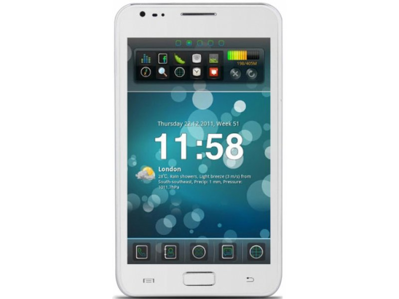 Samsung Galaxy Note N9000 white MTK6575