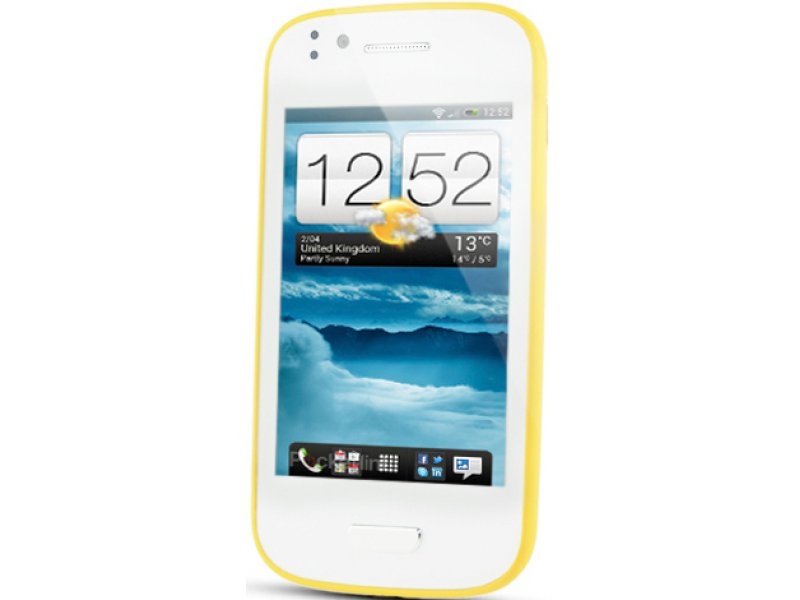 Samsung Galaxy S3 mini N9300 white-yellow
