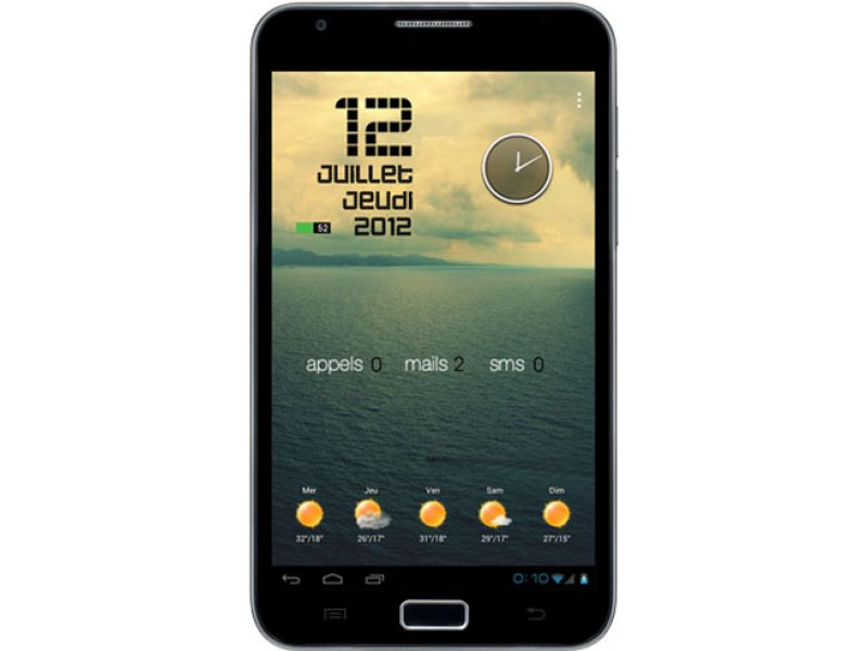 Samsung Galaxy Note N9770 black MTK6577