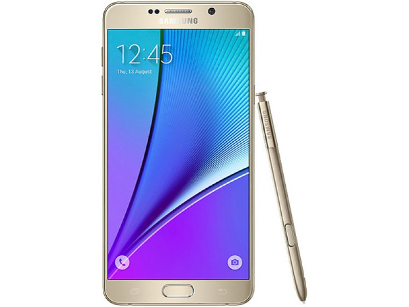 Samsung Galaxy Note 5 Quad-Core gold