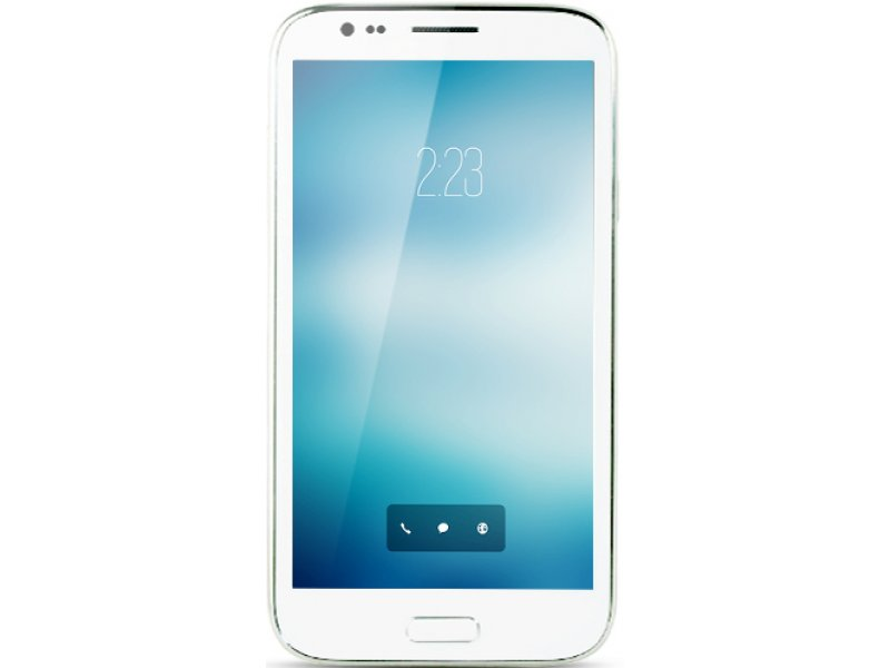 Samsung Galaxy Note 2 S7189 white MTK6589