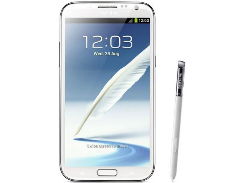 Samsung Galaxy Note 2 S7100 TV Android white
