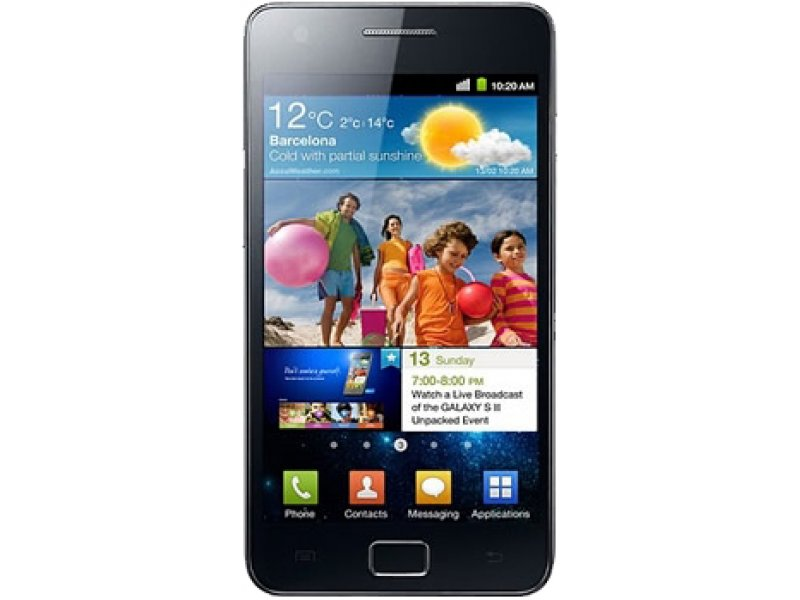 Samsung Galaxy Note i9100 black Android 2.3