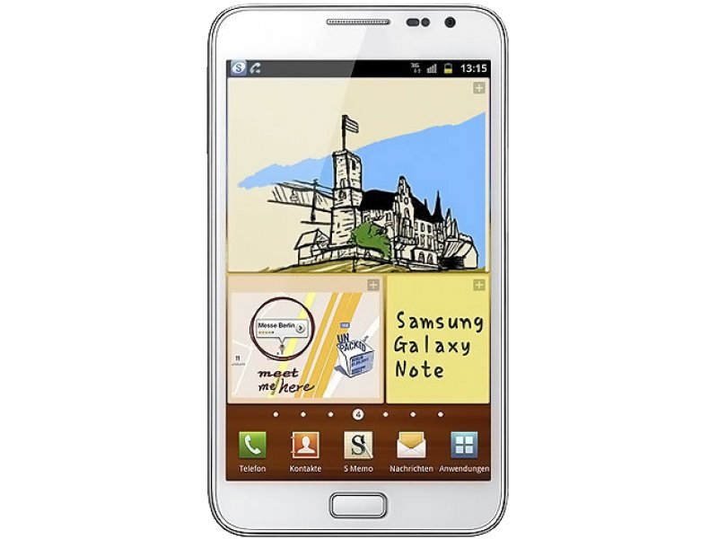 Samsung Galaxy Note i9220 white