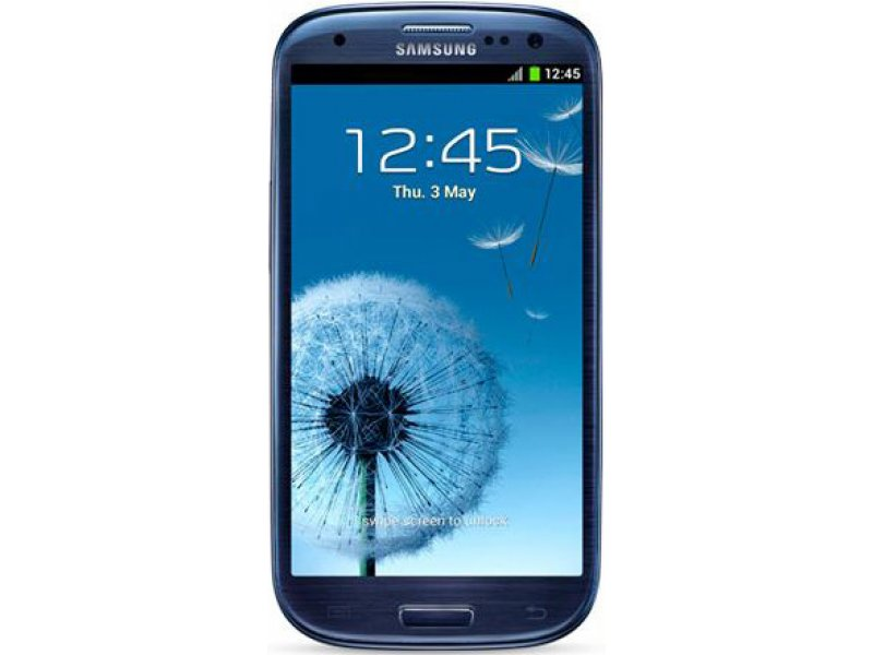 Samsung Galaxy S3 Android high copy blue
