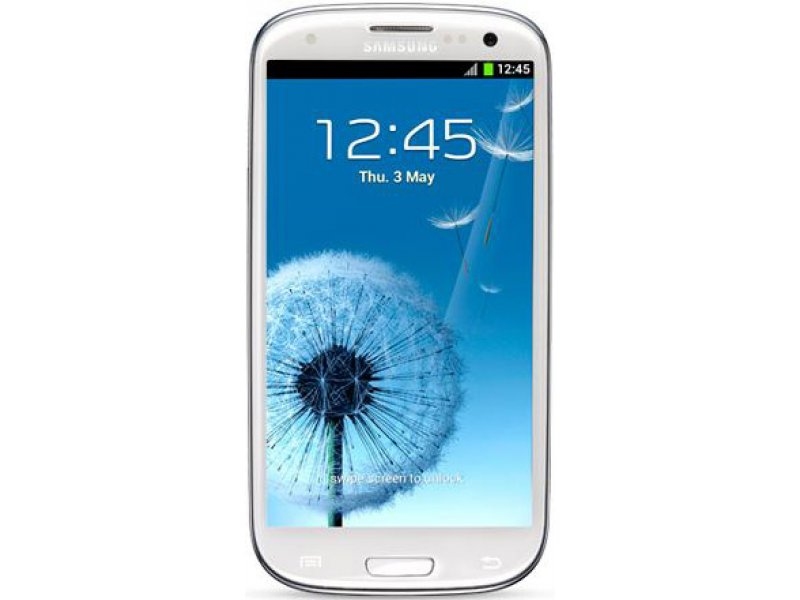 Samsung Galaxy S3 Android high copy white