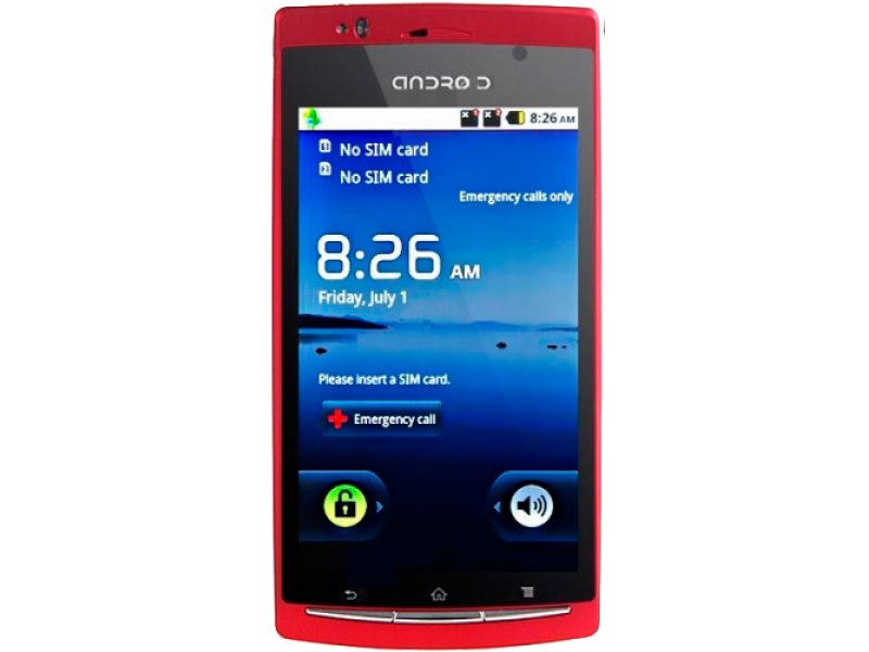 Sony Ericsson X12 (A7000) red