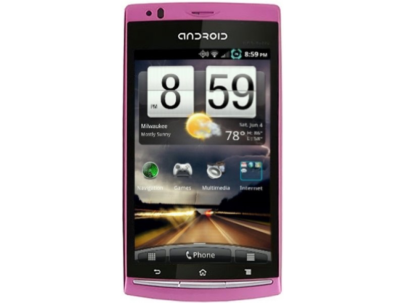 Sony Ericsson X18i Android pink