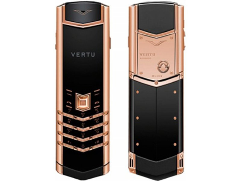 Vertu Signature S Design Pink-Gold