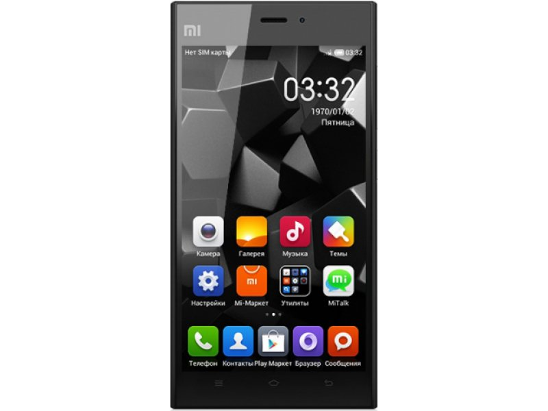 Xiaomi Mi3 Android 4.2 Quad-Core black