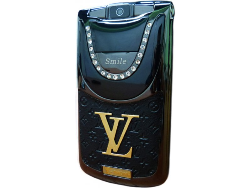 Louis Vuitton V9 Black Gold раскладушка