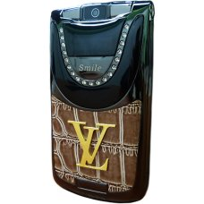 Louis Vuitton V9 Coffe Black раскладушка