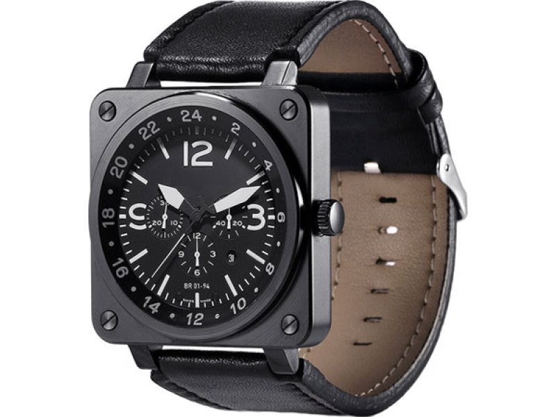 Smart Watch US18 Black (умные часы)